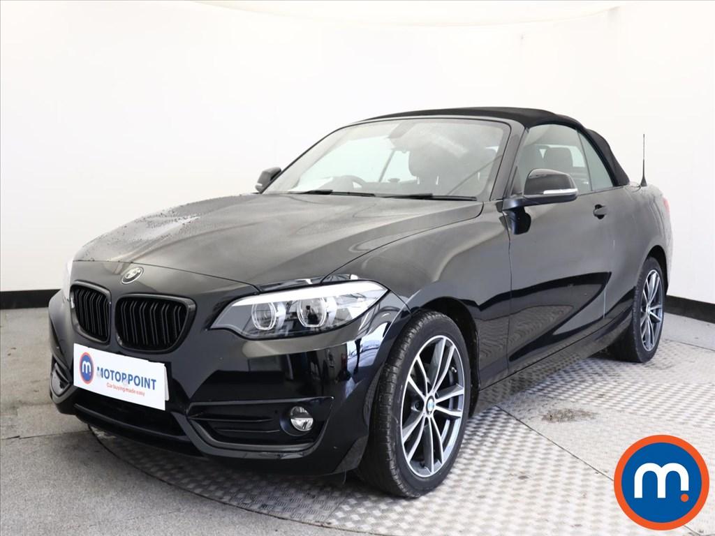BMW 2 Series Sport - Stock Number 1149105 Passenger side front corner