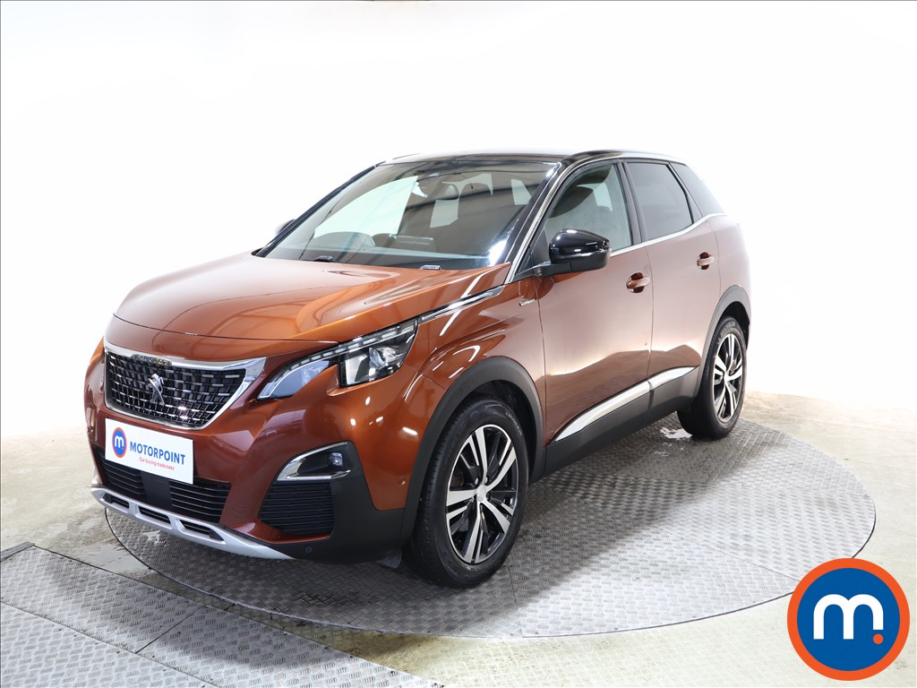 Peugeot 3008 1.6 BlueHDi 120 GT Line 5dr EAT6 - Stock Number 1149785 Passenger side front corner