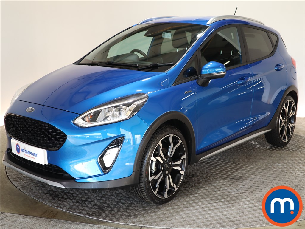 Ford Fiesta 1.0 EcoBoost 95 Active X Edition 5dr - Stock Number 1146753 Passenger side front corner