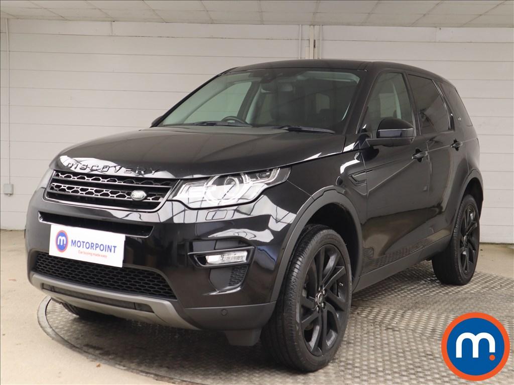 Land Rover Discovery Sport HSE Black - Stock Number 1143018 Passenger side front corner