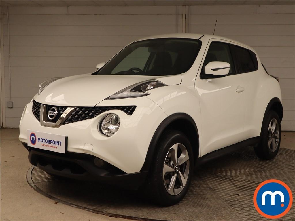 Nissan Juke Acenta - Stock Number 1149435 Passenger side front corner