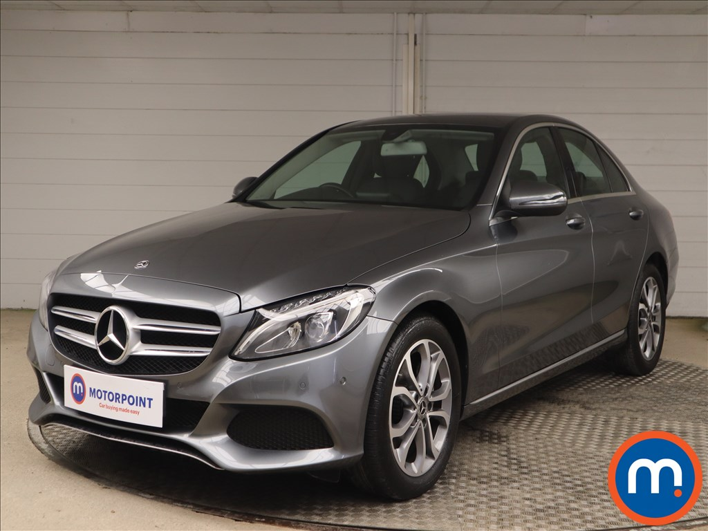 Mercedes-Benz C Class Sport - Stock Number 1148510 Passenger side front corner