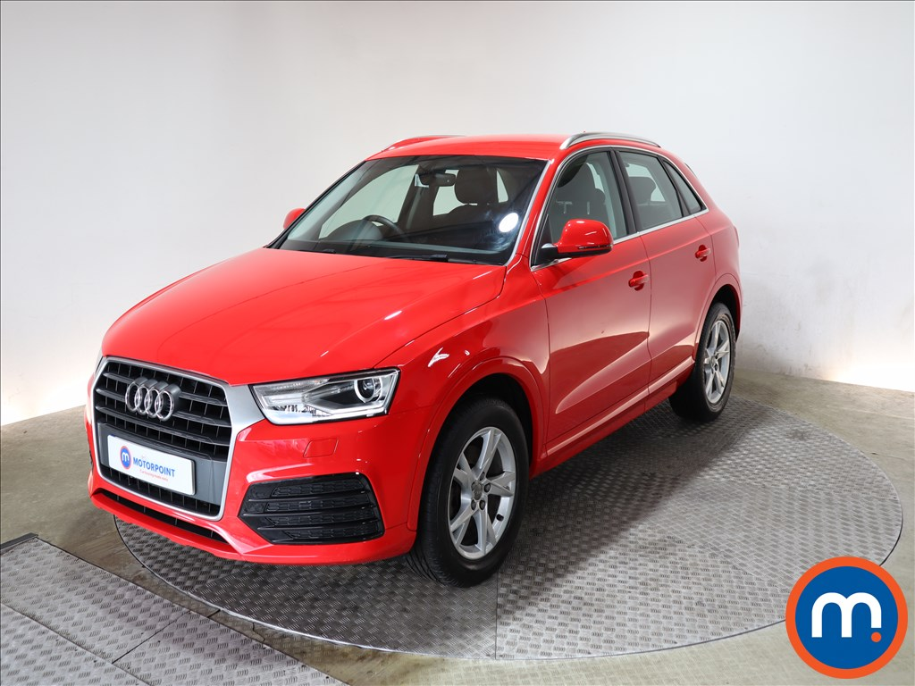 Audi Q3 Sport - Stock Number 1148401 Passenger side front corner
