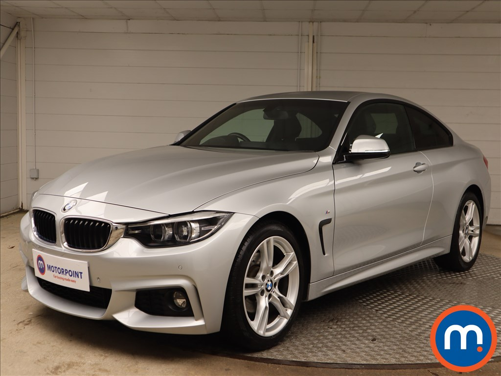 BMW 4 Series 420d [190] M Sport 2dr Auto [Professional Media] - Stock Number 1145946 Passenger side front corner