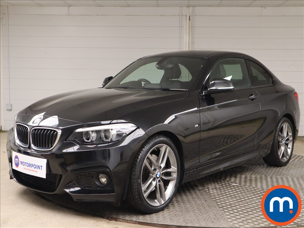 BMW 2 Series 220d M Sport 2dr [Nav] Step Auto - Stock Number 1146259 Passenger side front corner