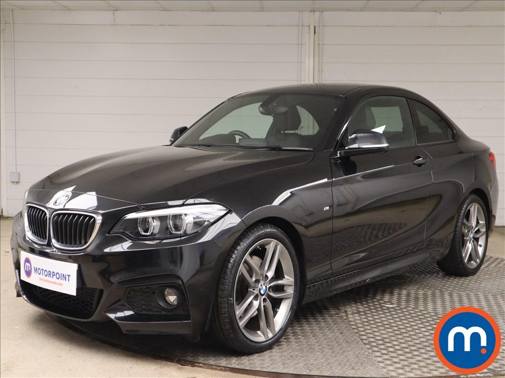 BMW 2 Series 220d M Sport 2dr [Nav] Step Auto - Stock Number 1146259 Passenger side front corner