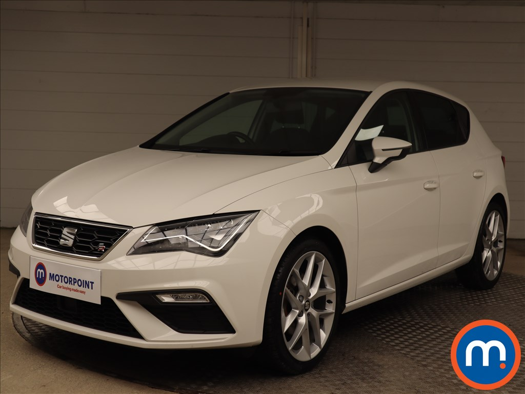 Seat Leon FR Technology - Stock Number 1148878 Passenger side front corner