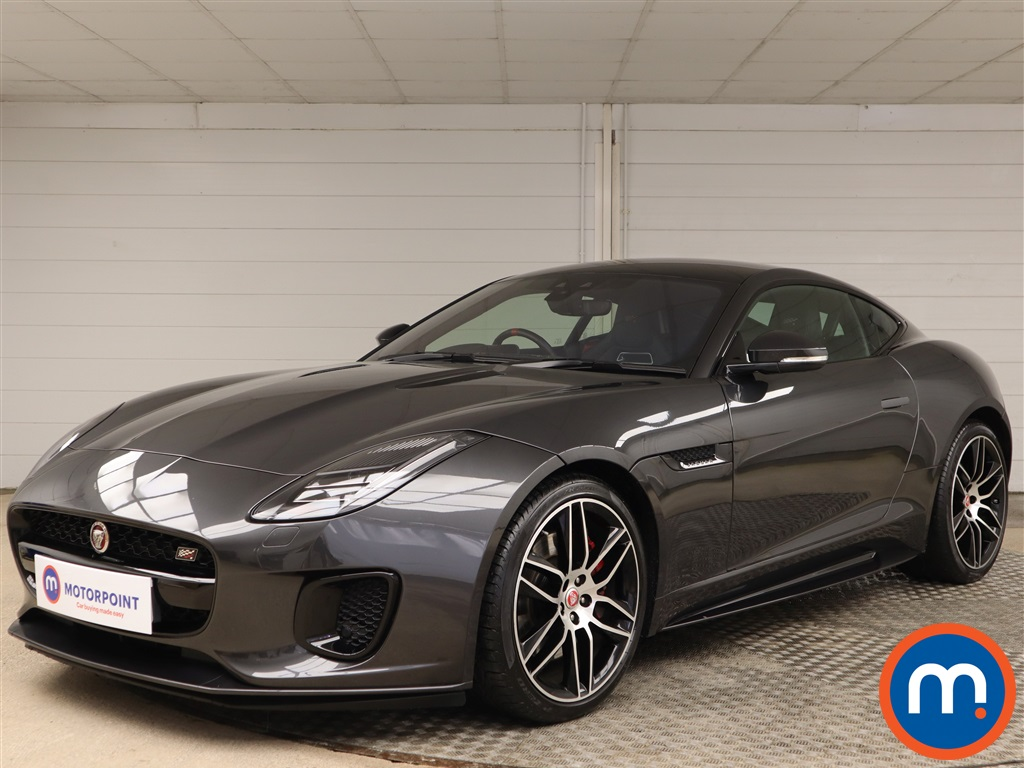 Jaguar F-Type Chequered Flag - Stock Number 1142253 Passenger side front corner