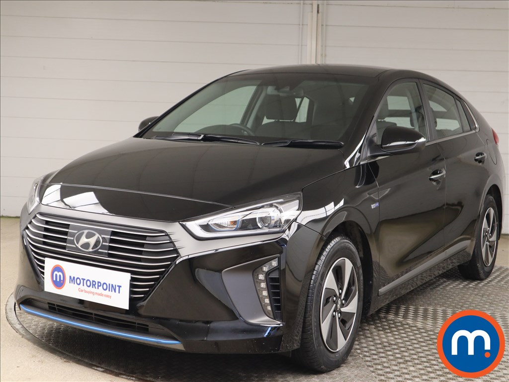 Hyundai Ioniq 1.6 GDi Hybrid Premium 5dr DCT - Stock Number 1146809 Passenger side front corner