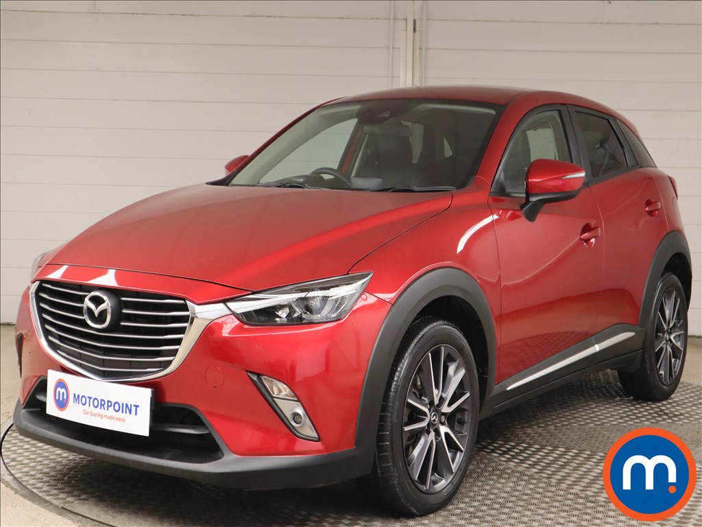 Mazda Cx-3 Sport Nav - Stock Number 1148473 Passenger side front corner