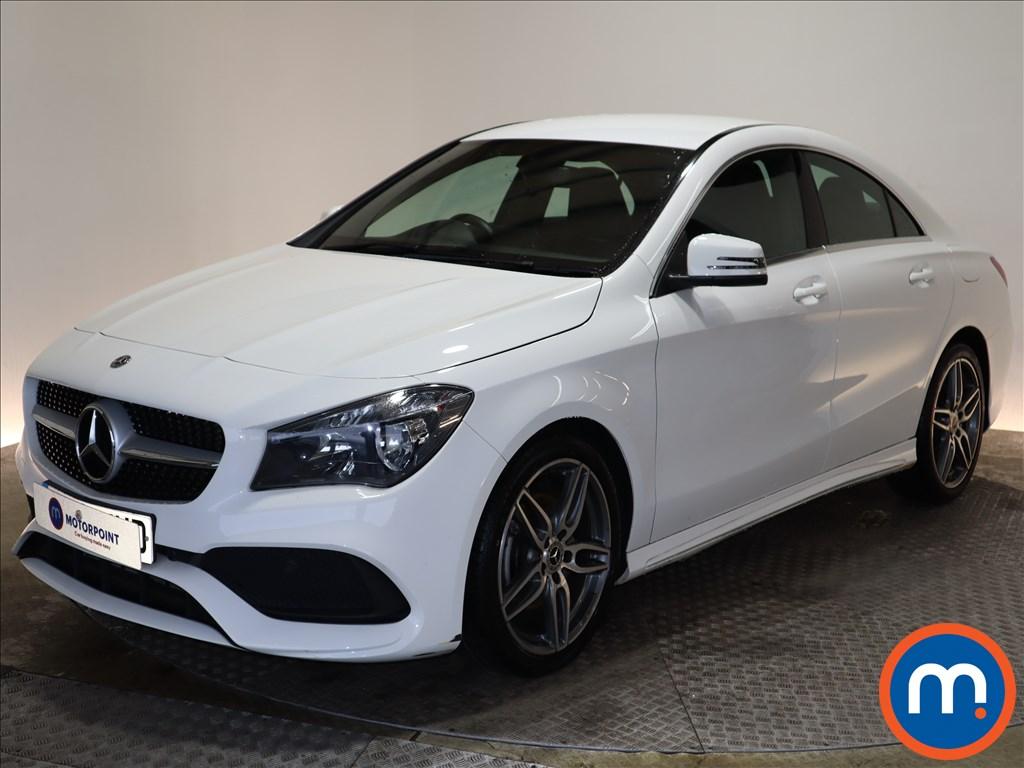 Mercedes-Benz CLA AMG Line Edition - Stock Number 1146212 Passenger side front corner