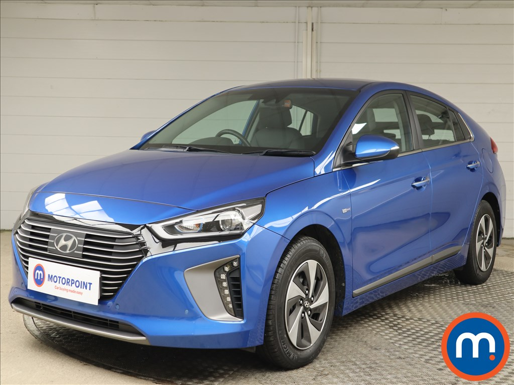 Hyundai Ioniq Premium SE - Stock Number 1147107 Passenger side front corner