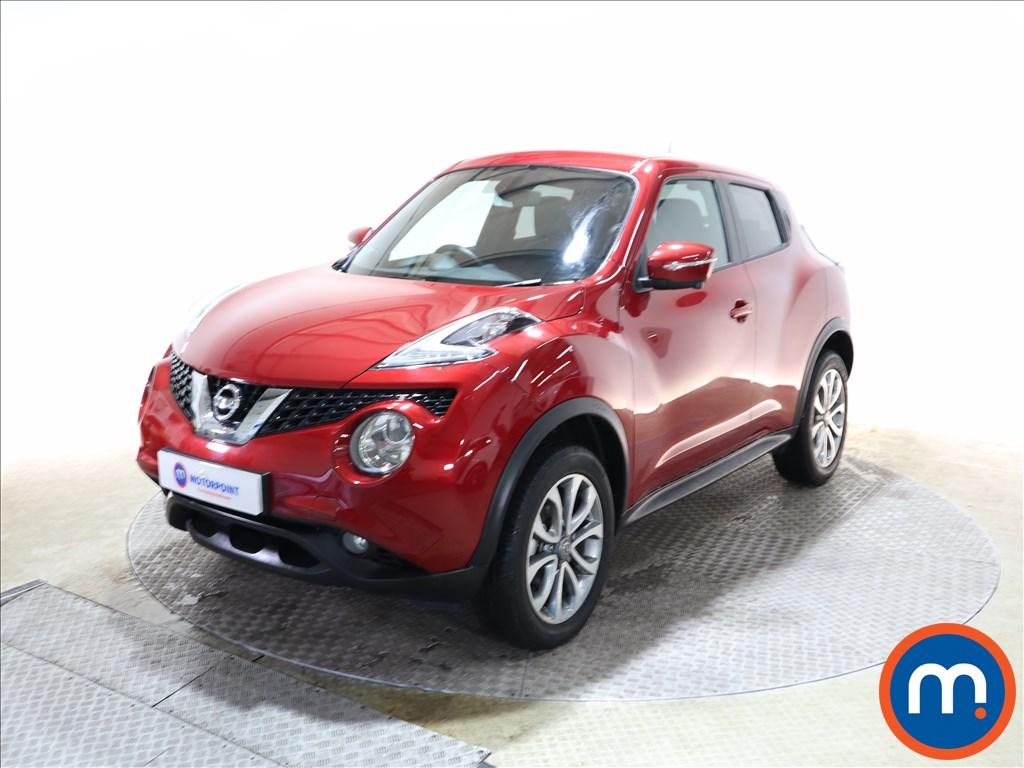 Nissan Juke Tekna - Stock Number 1146278 Passenger side front corner