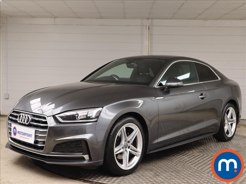 Audi A5 S Line - Stock Number 1142340 Passenger side front corner