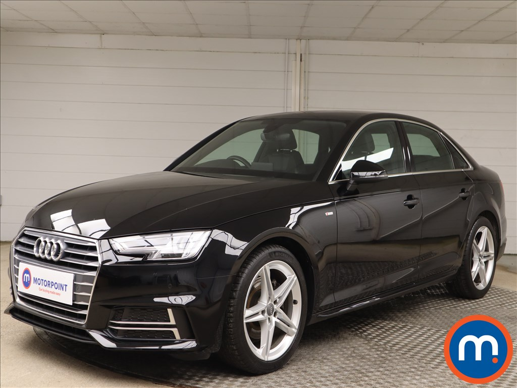 Audi A4 S Line - Stock Number 1135440 Passenger side front corner