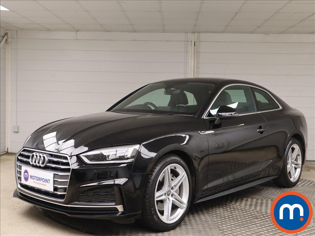 Audi A5 S Line - Stock Number 1145725 Passenger side front corner