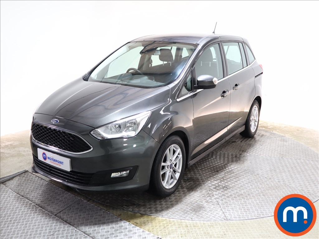 Ford Grand C-Max 1.0 EcoBoost 125 Zetec Navigation 5dr - Stock Number 1149810 Passenger side front corner