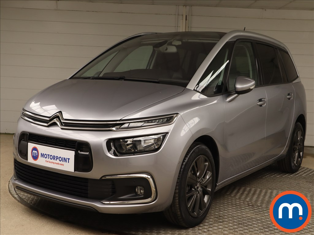 Citroen Grand C4 Picasso 1.6 BlueHDi Flair 5dr EAT6 - Stock Number 1148560 Passenger side front corner