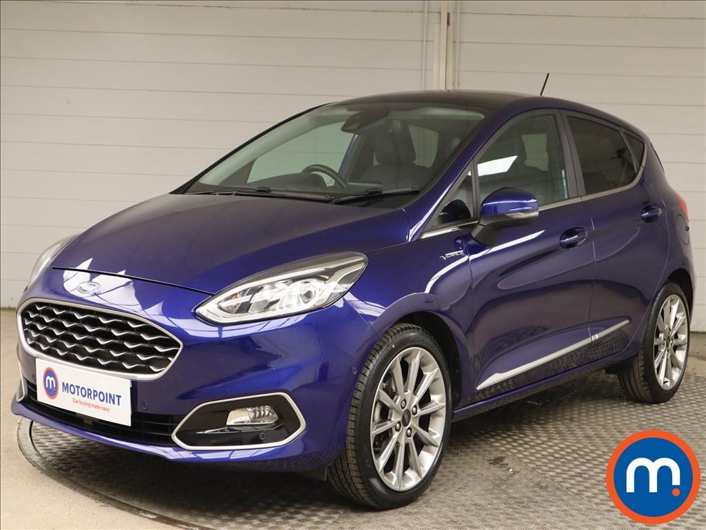 Ford Fiesta Vignale 1.0 EcoBoost 140 5dr - Stock Number 1142791 Passenger side front corner