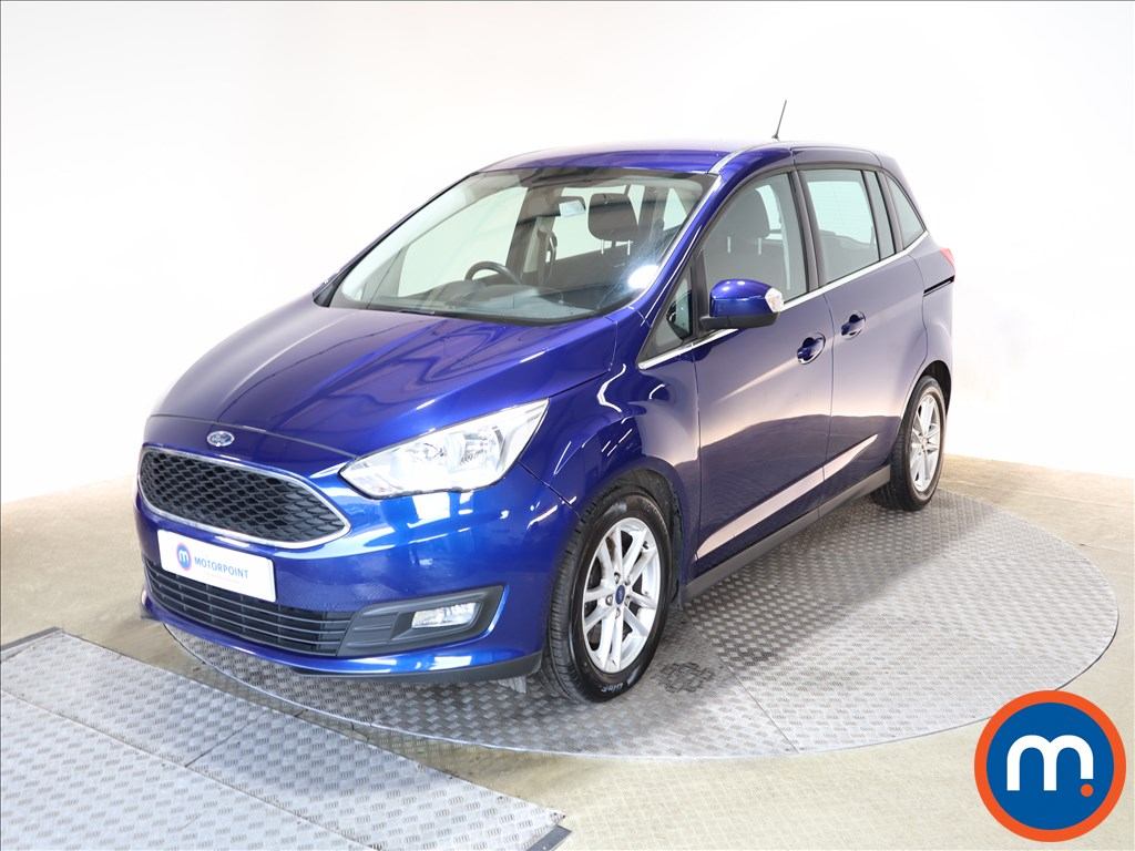 Ford Grand C-Max 1.0 EcoBoost 125 Zetec Navigation 5dr - Stock Number 1147588 Passenger side front corner