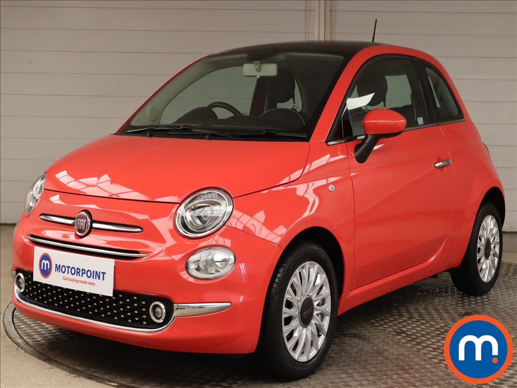Fiat 500 1.2 Lounge 3dr - Stock Number 1149426 Passenger side front corner