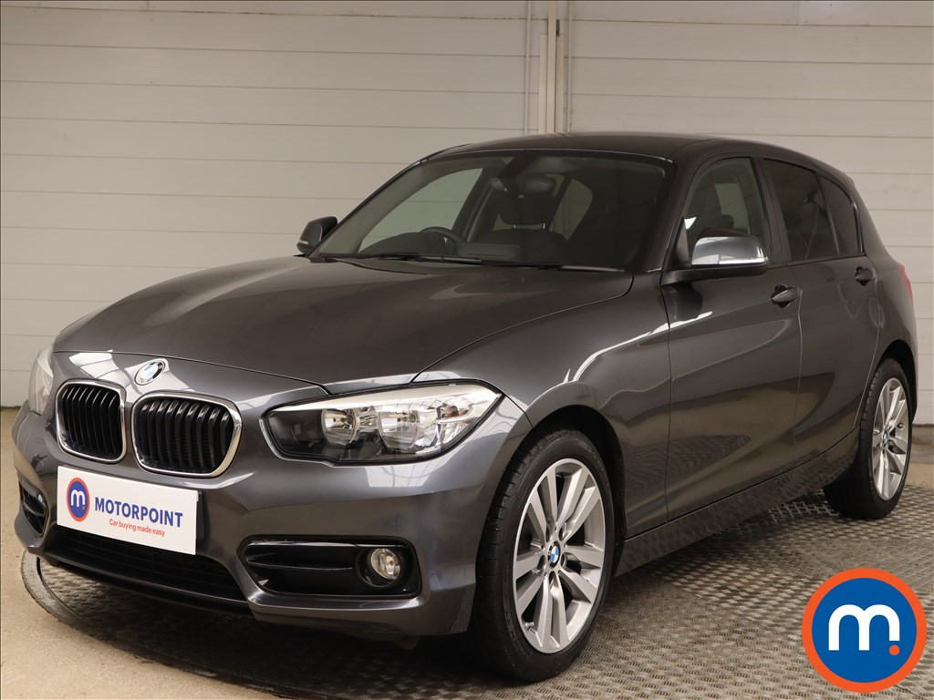BMW 1 Series Sport - Stock Number 1097940 Passenger side front corner