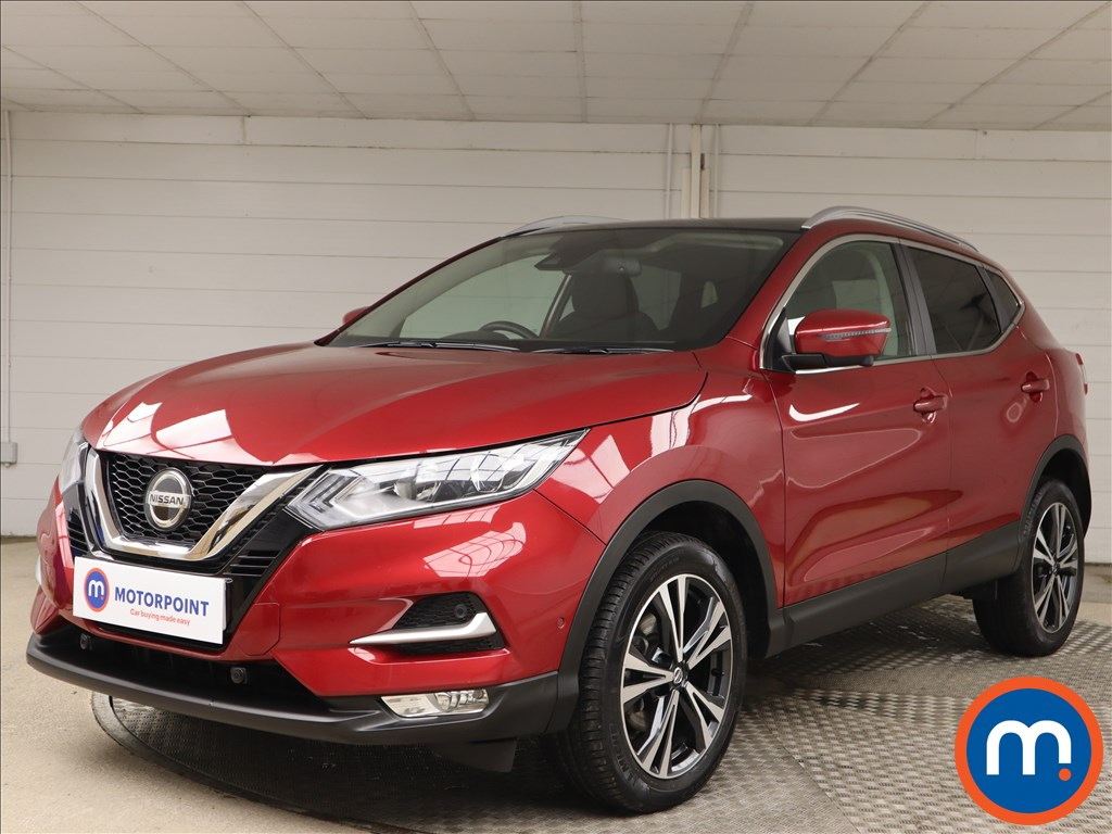Nissan Qashqai 1.3 DiG-T N-Connecta 5dr [Glass Roof Pack] - Stock Number 1149550 Passenger side front corner