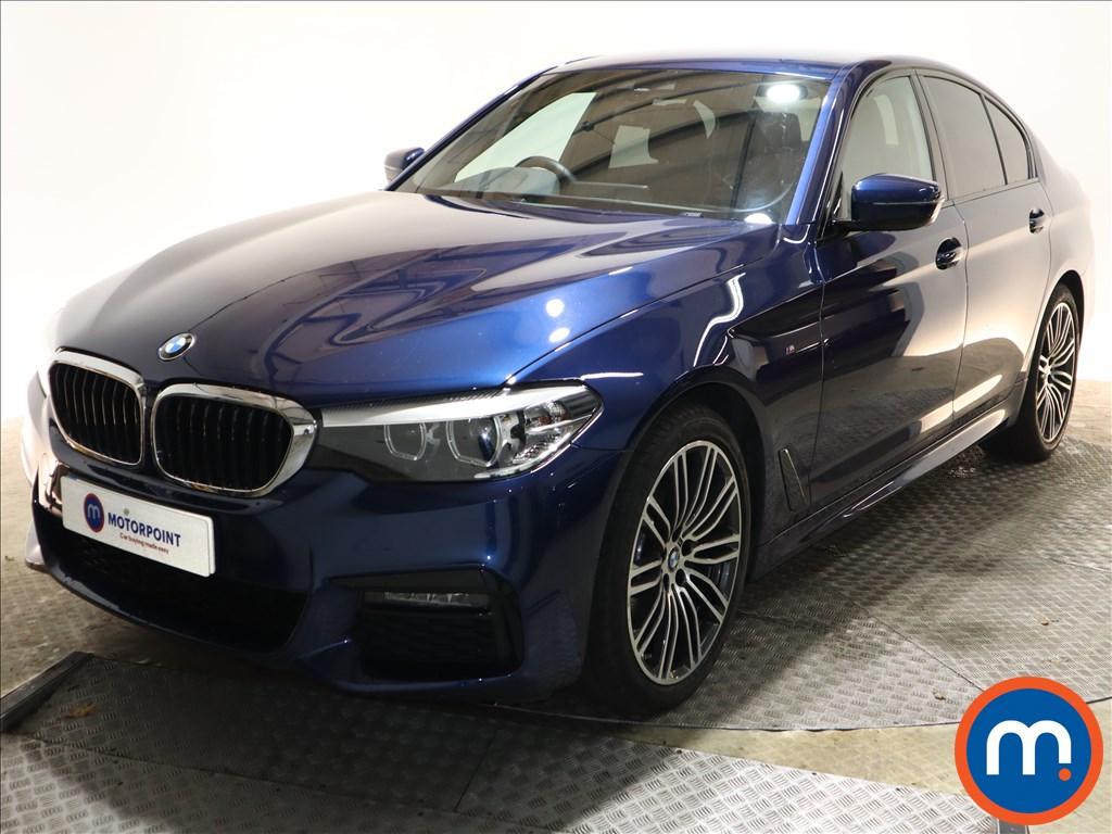 BMW 5 Series M Sport - Stock Number 1143749 Passenger side front corner