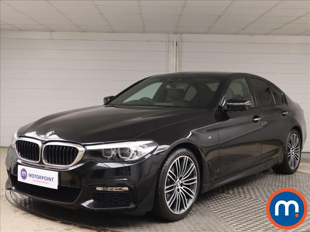 BMW 5 Series 520d M Sport 4dr Auto - Stock Number 1142402 Passenger side front corner