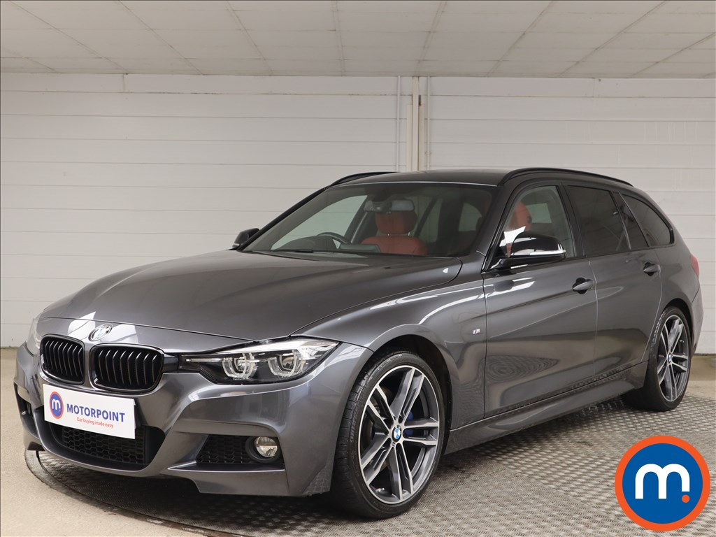 BMW 3 Series 320d M Sport Shadow Edition 5dr Step Auto - Stock Number 1149379 Passenger side front corner