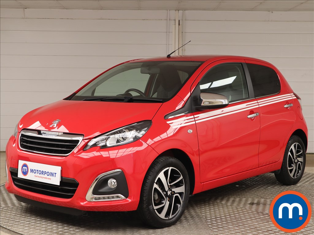 Peugeot 108 1.0 Collection 5dr - Stock Number 1150164 Passenger side front corner