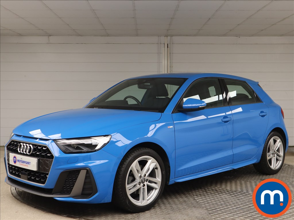 Audi A1 S Line - Stock Number 1148973 Passenger side front corner
