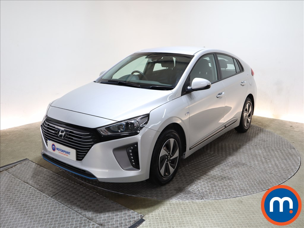 Hyundai Ioniq 1.6 GDi Hybrid SE 5dr DCT - Stock Number 1151063 Passenger side front corner