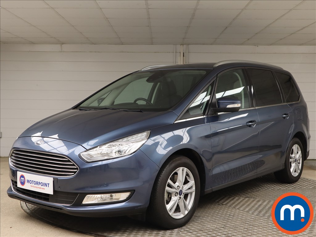 Ford Galaxy 2.0 EcoBlue 190 Titanium 5dr - Stock Number 1090940 Passenger side front corner