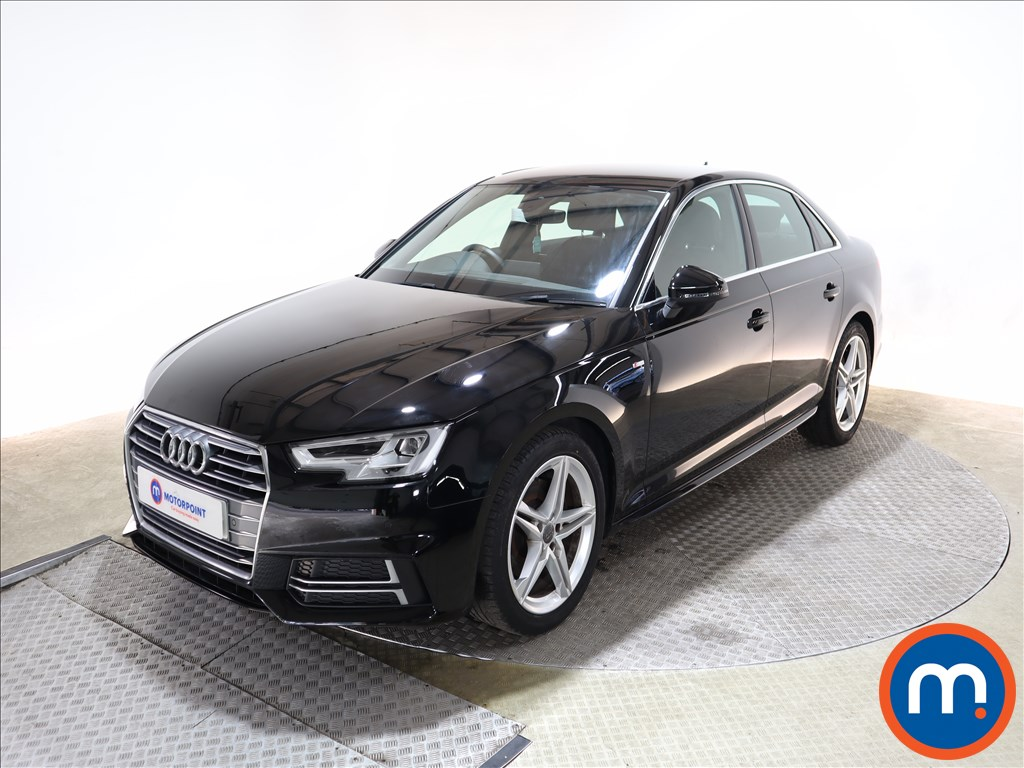 Audi A4 1.4T FSI S Line 4dr [Leather-Alc] - Stock Number 1150782 Passenger side front corner