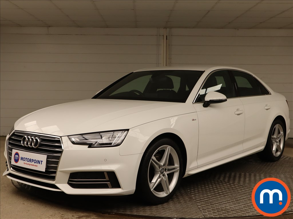 Audi A4 1.4T FSI S Line 4dr [Leather-Alc] - Stock Number 1149018 Passenger side front corner