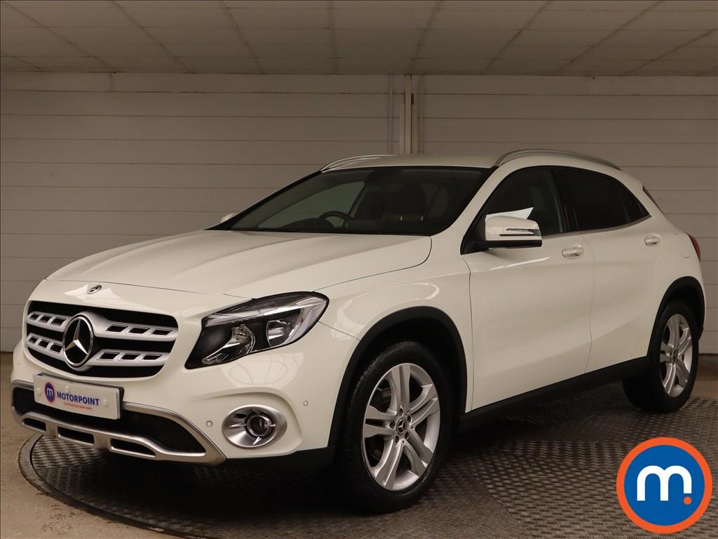 Mercedes-Benz GLA Sport - Stock Number 1149935 Passenger side front corner