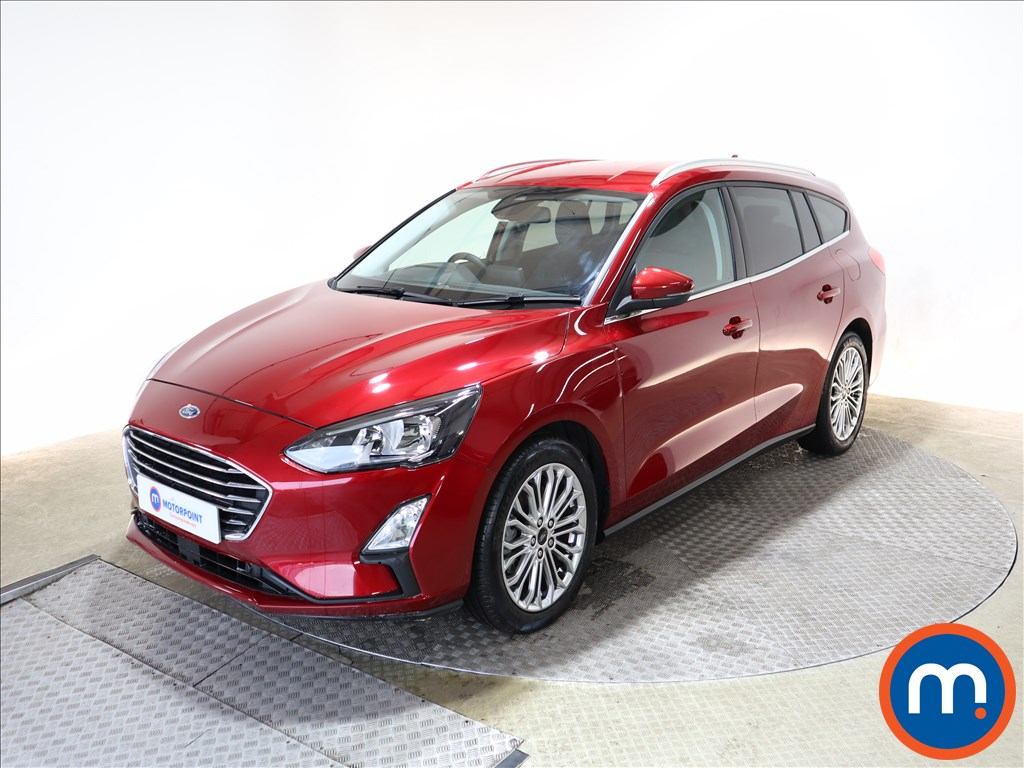 Ford Focus 1.5 EcoBoost 150 Titanium X 5dr Auto - Stock Number 1152707 Passenger side front corner
