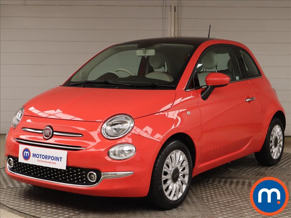 Fiat 500 1.2 Lounge 3dr Dualogic - Stock Number 1152992 Passenger side front corner