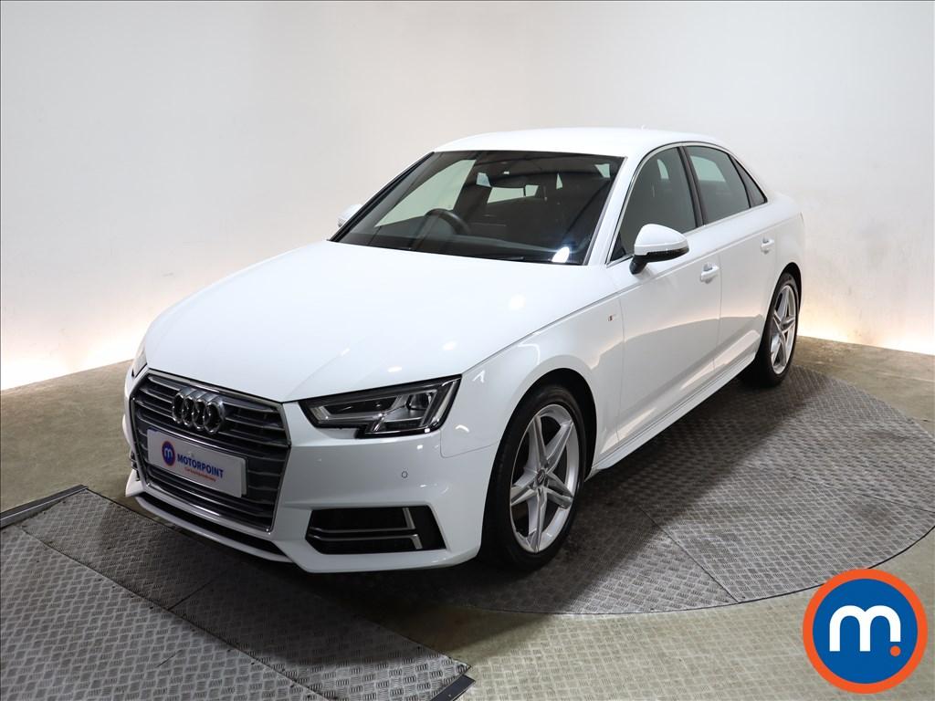 Audi A4 1.4T FSI S Line 4dr [Leather-Alc] - Stock Number 1150773 Passenger side front corner