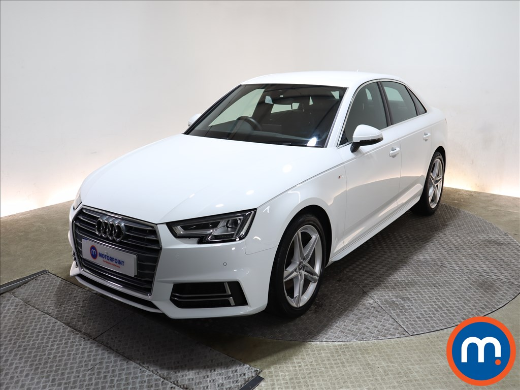 Audi A4 1.4T FSI S Line 4dr [Leather-Alc] - Stock Number 1150773 Passenger side front corner