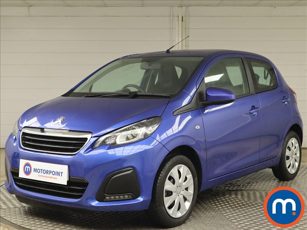 Peugeot 108 1.0 72 Active 5dr - Stock Number 1153316 Passenger side front corner