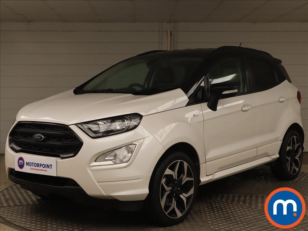 Ford Ecosport 1.0 EcoBoost 140 ST-Line 5dr - Stock Number 1140886 Passenger side front corner
