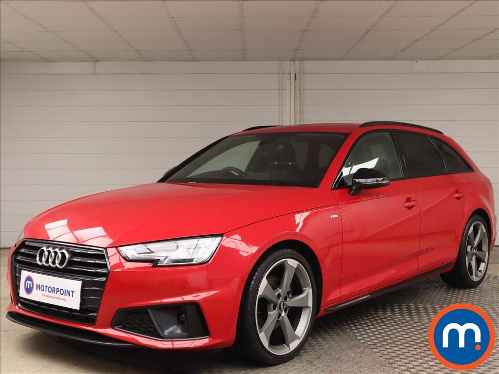 Audi A4 35 TFSI Black Edition 5dr - Stock Number 1152790 Passenger side front corner