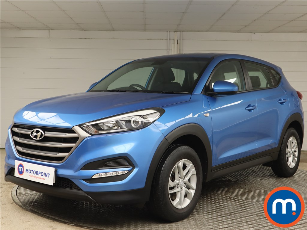 Hyundai Tucson 1.6 GDi Blue Drive S 5dr 2WD - Stock Number 1155744 Passenger side front corner