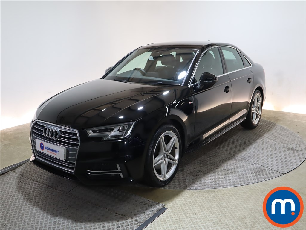 Audi A4 1.4T FSI S Line 4dr [Leather-Alc] - Stock Number 1155647 Passenger side front corner