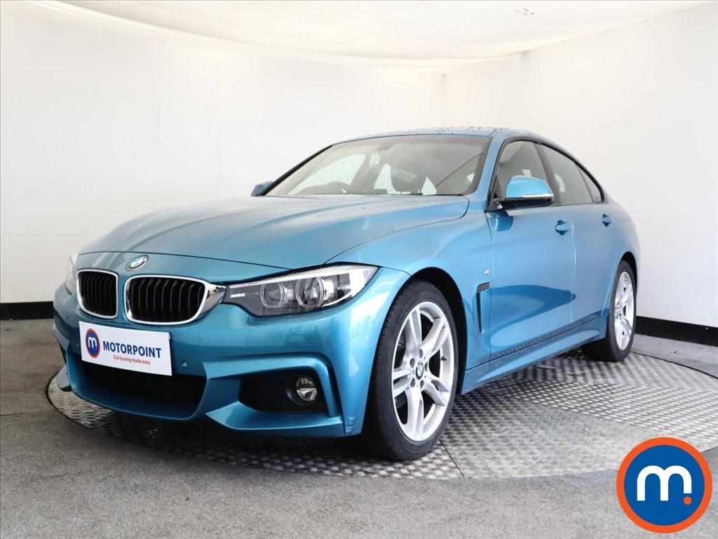 BMW 4 Series 420i M Sport 5dr [Professional Media] - Stock Number 1154633 Passenger side front corner
