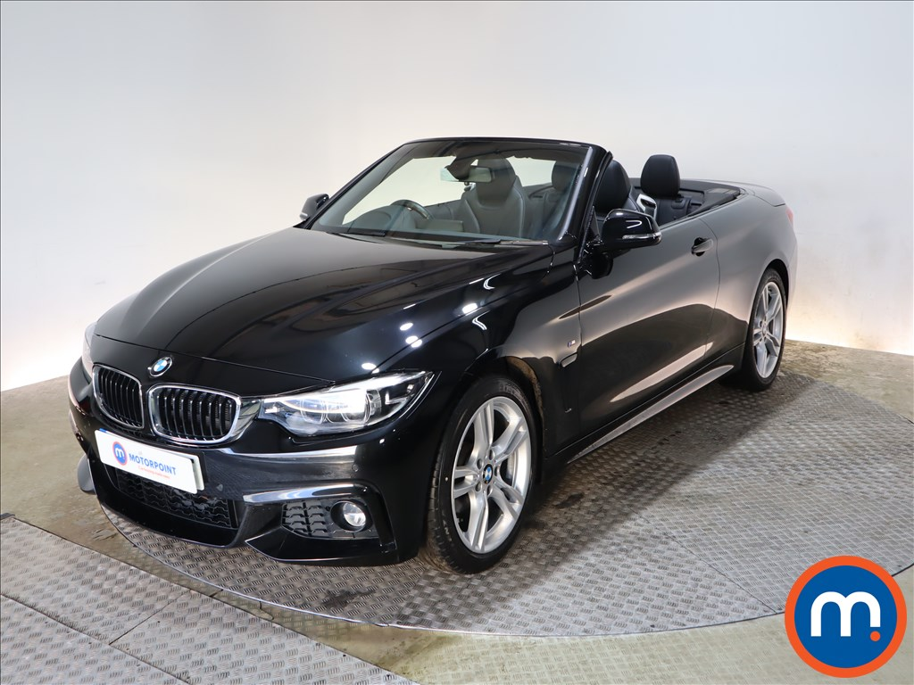 BMW 4 Series 420i M Sport 2dr Auto [Professional Media] - Stock Number 1154576 Passenger side front corner