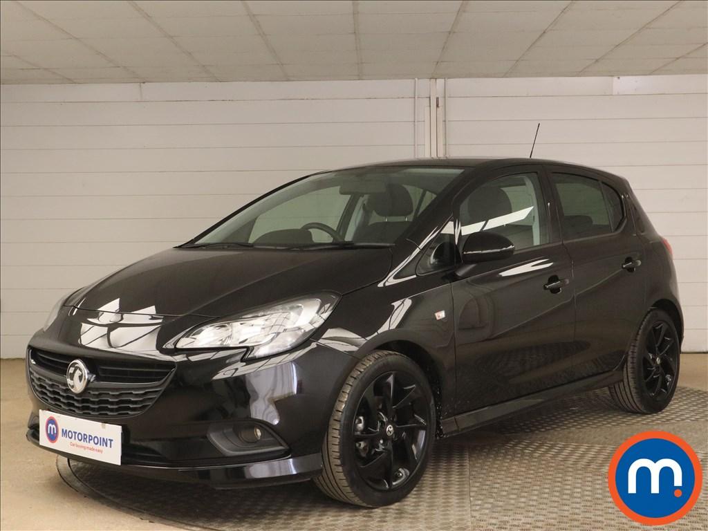 Vauxhall Corsa 1.4 SRi Vx-line Nav Black 5dr - Stock Number 1155895 Passenger side front corner