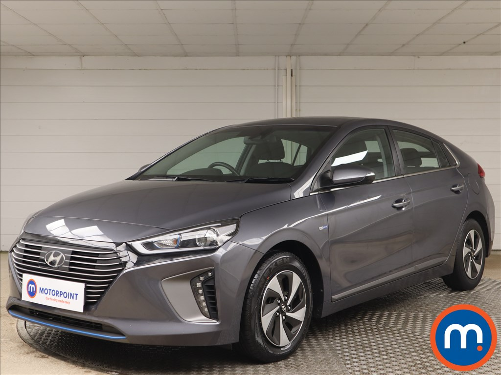 Hyundai Ioniq 1.6 GDi Hybrid Premium 5dr DCT - Stock Number 1155714 Passenger side front corner